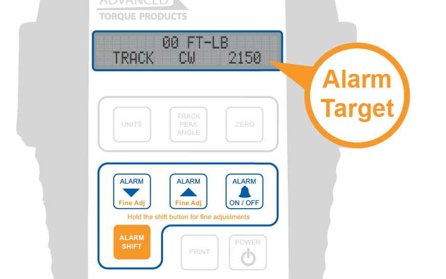 Alarm Target Callout